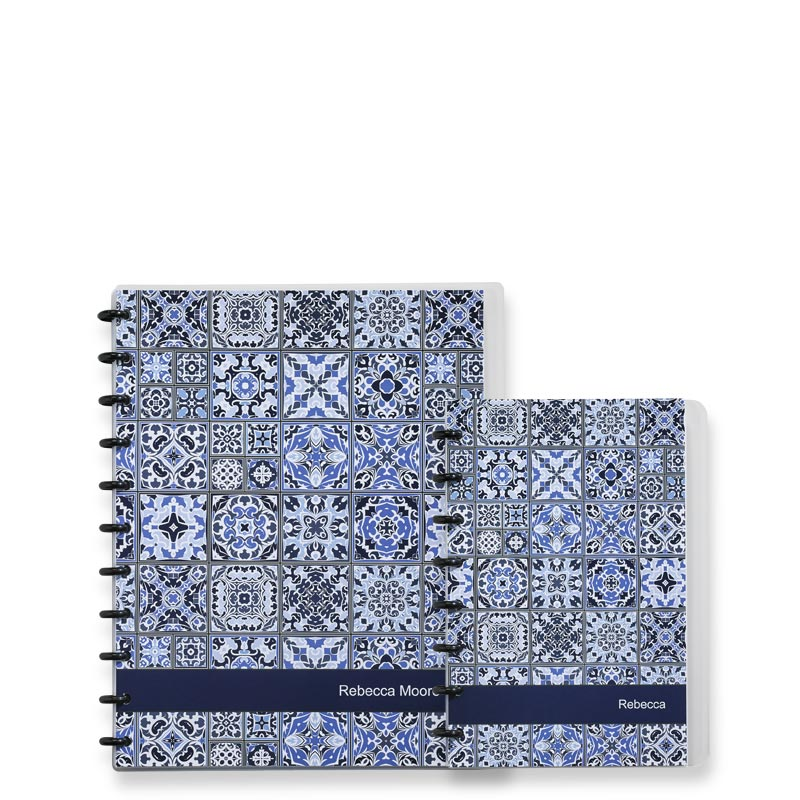 Moroccan Tile Circa® Personalized Notebook, Annotation Ruled