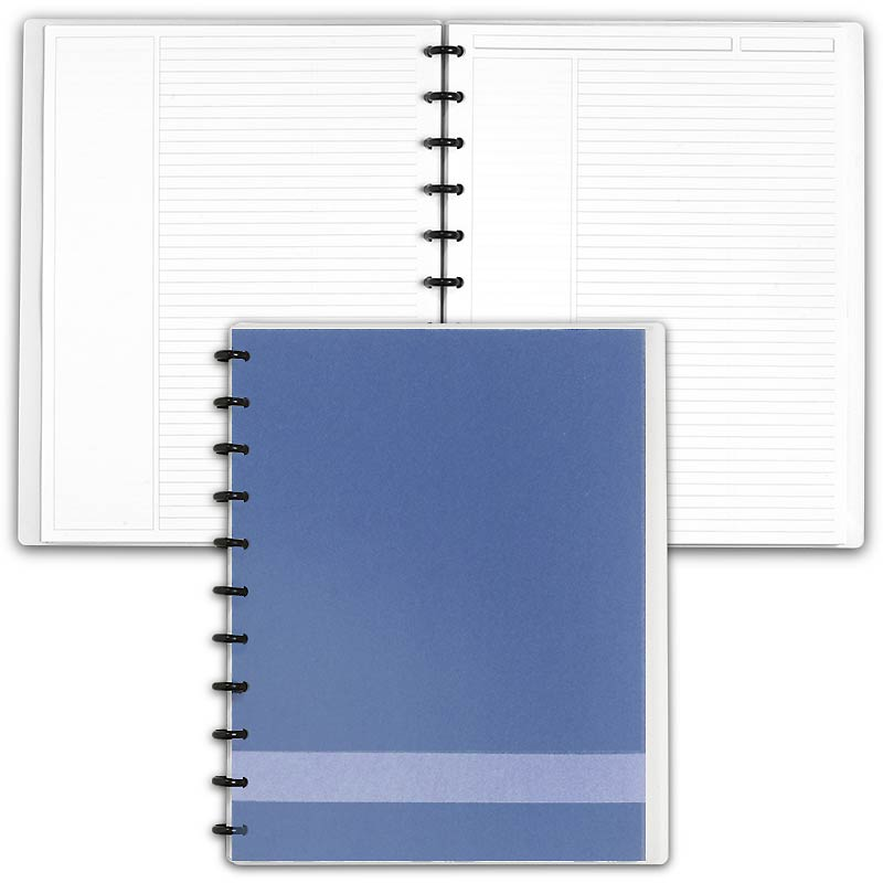 Slate Circa® Personalized Notebook, Annotation Ruled Letter