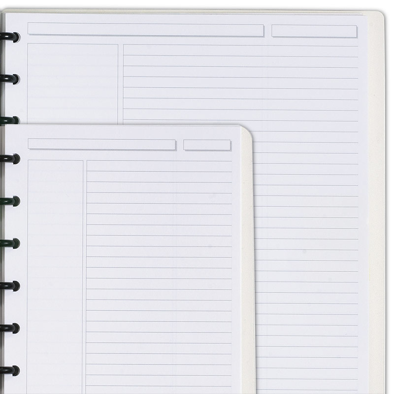 Circa® Personalized Notebook, Annotation Ruled