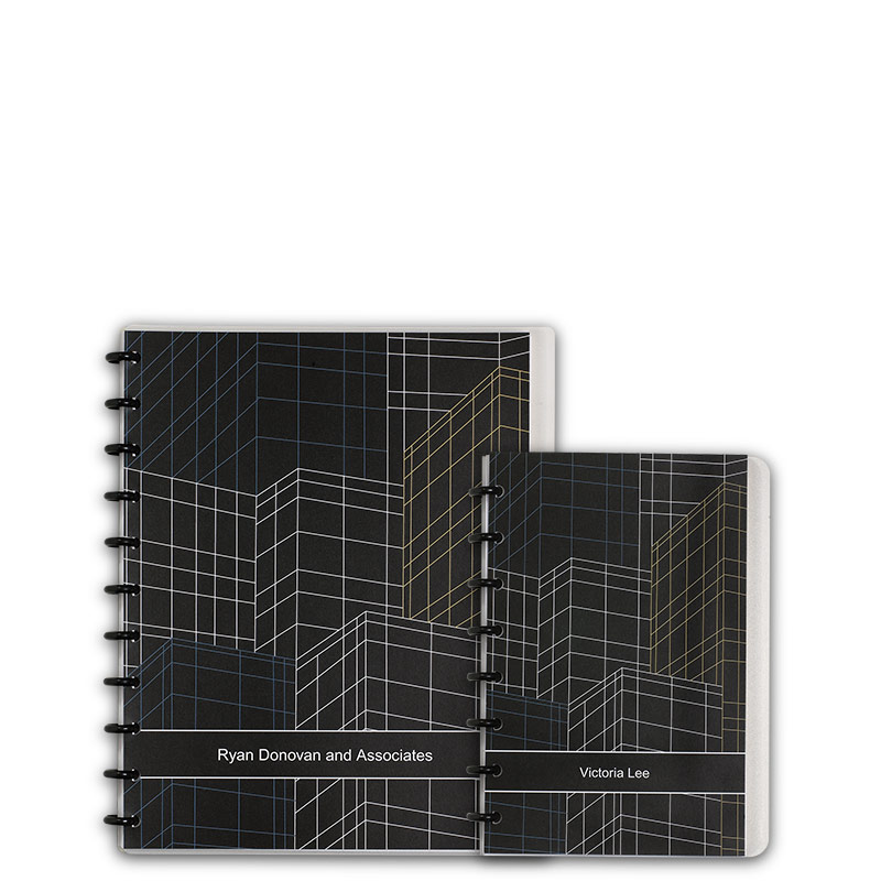 Special Request™ Circa Personalized Notebook, Skyline