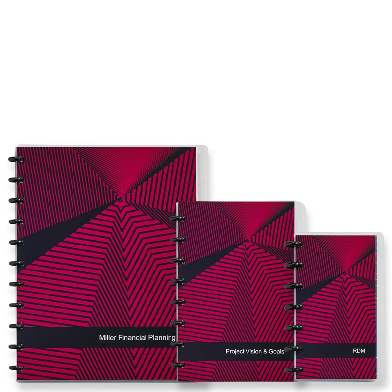 Special Request™ Circa Personalized Notebook - Vortex