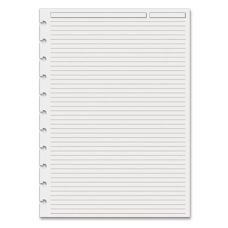 Special Request™ Full-Page Ruled (100 sheets) Circa® A4