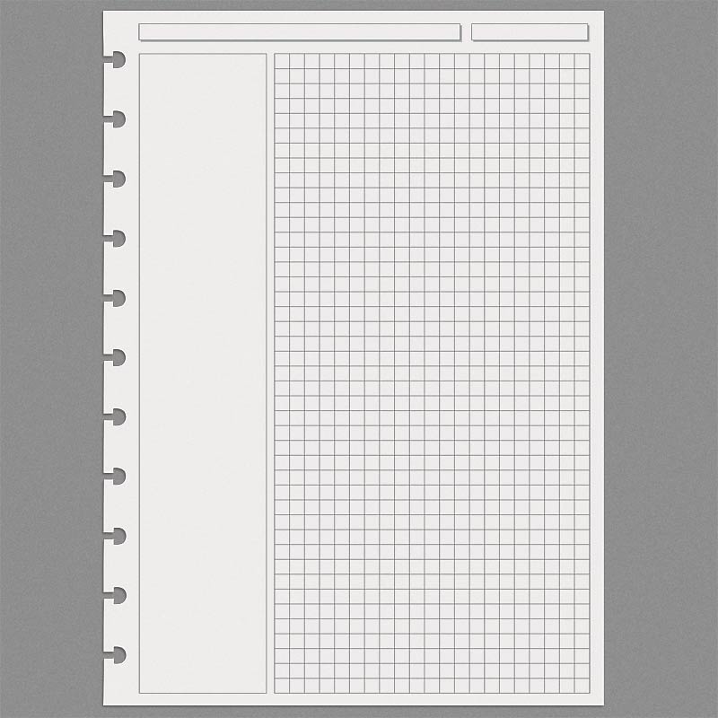 Special Request™ Annotation Grid, Circa A4 (100 sheets)