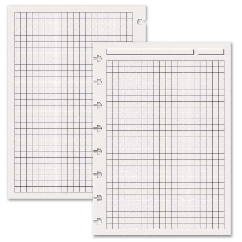 Special Request™ Full-Page Grid, Circa A5 (100 sheets)