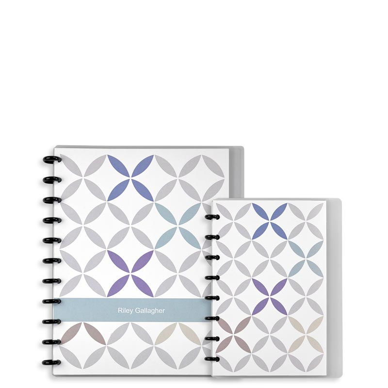 Kaleidoscope Circa® Personalized Notebook, Annotation Ruled