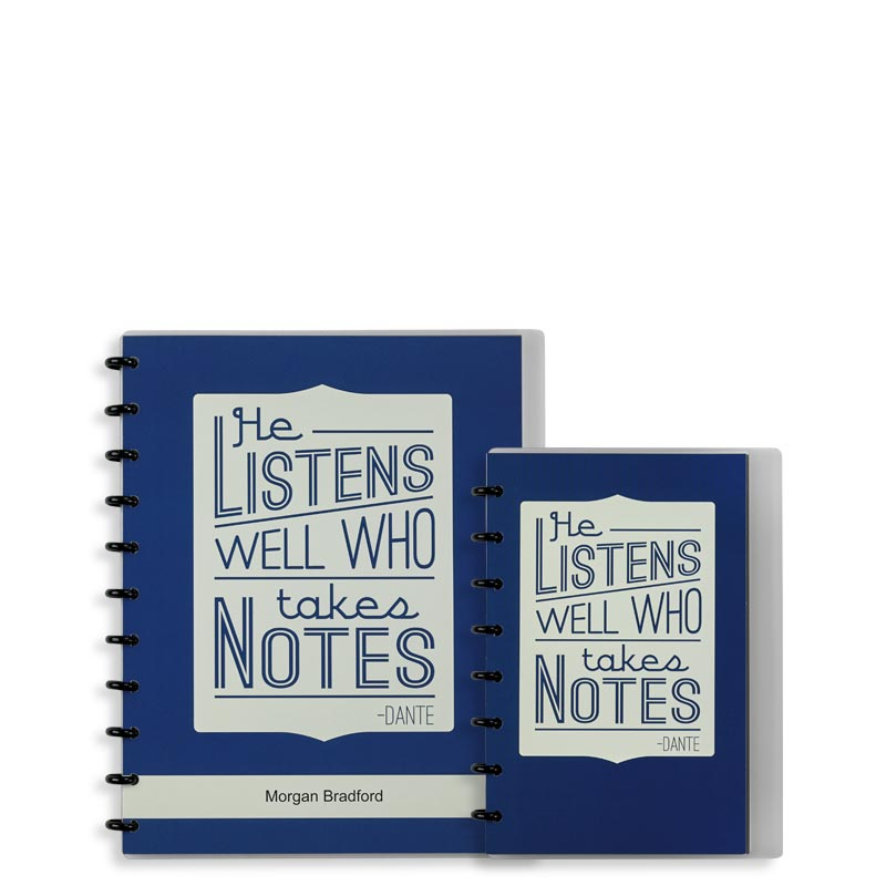 Quote Circa® Personalized Notebook, Annotation Ruled