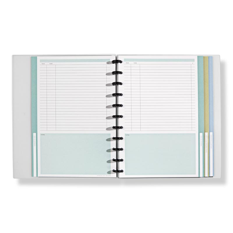 Circa Next Level To-Do Organizer Notebook, Letter