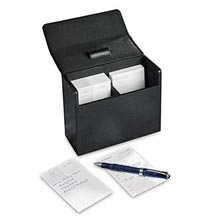 Metropolitan Note Card Box-BK w/ Calendar Card 2019