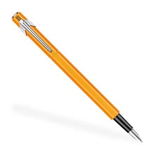 Caran D'Ache 849 Fountain Pen - Orange