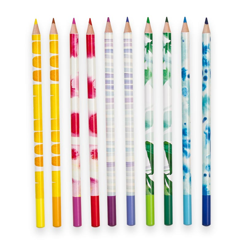 A Colorful Life Pencils (set of 10)