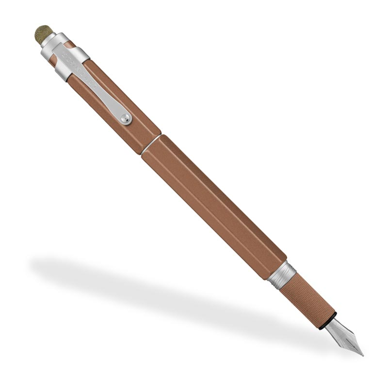 L-Tech 3.0 Fountain Pen, Bronze w/ Fabric Stylus