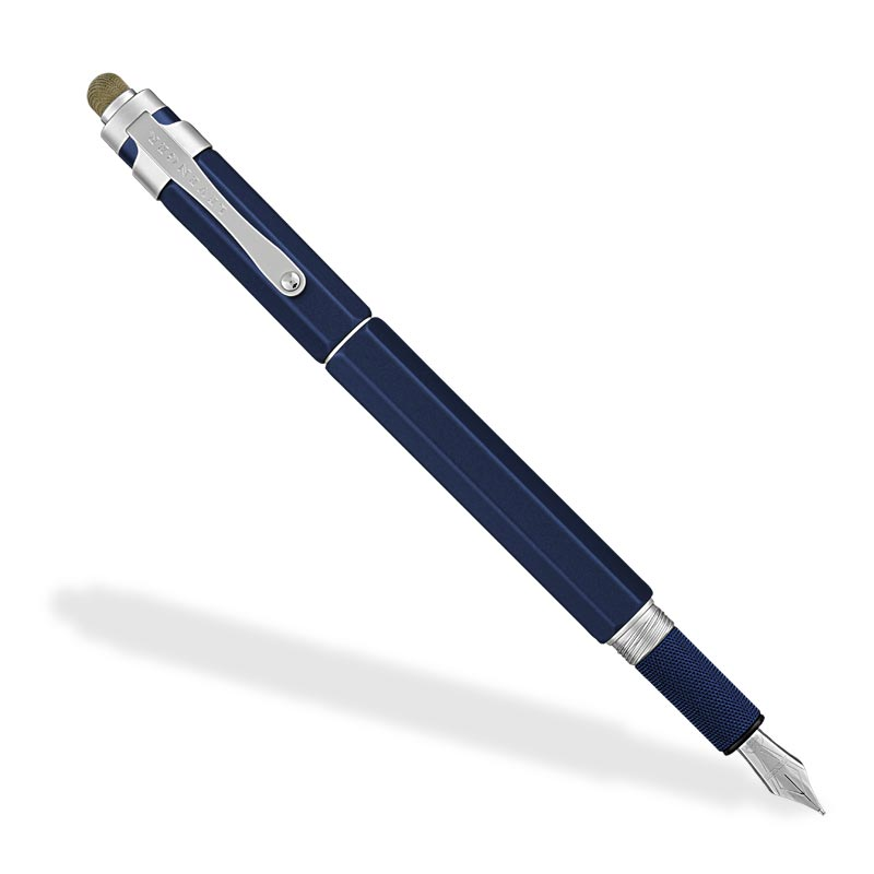 L-Tech 3.0 Fountain Pen, Royal Blue w/ Fabric Stylus