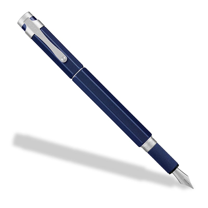 L-Tech 3.0 Fountain Pen, Royal Blue w/ Flat Top