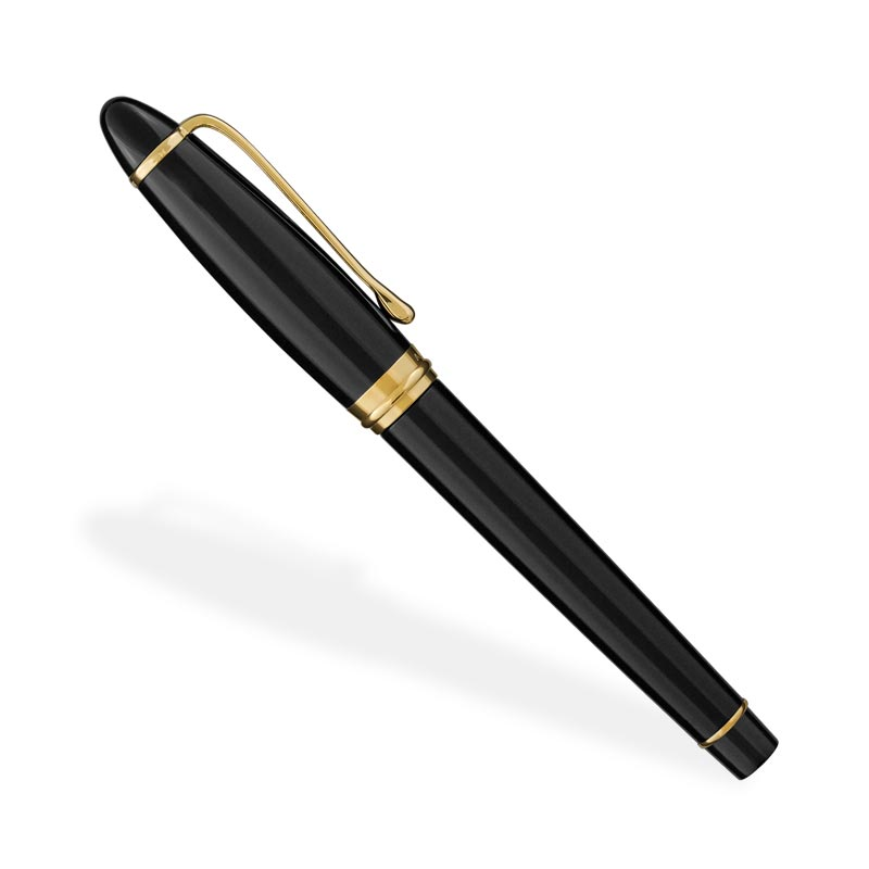 Aurora Ipsilon Fountain Pen, Black