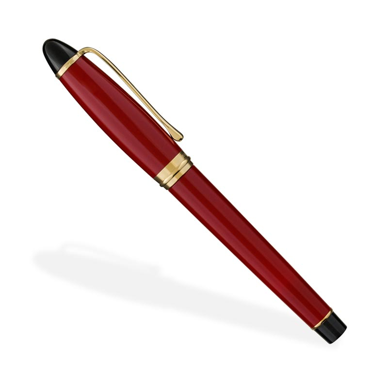 Aurora Ipsilon Fountain Pen, Bordeaux