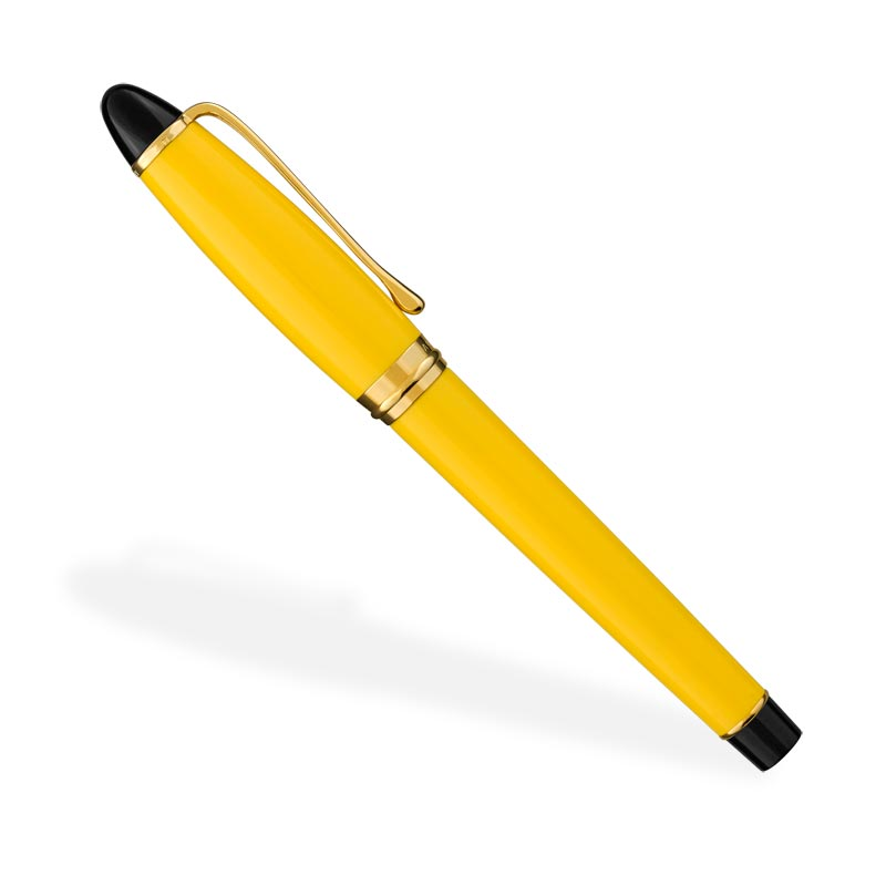 Aurora Ipsilon Fountain Pen, Yellow