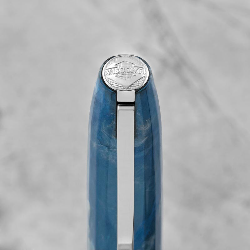 Visconti Hall of Music Fountain Pen, Blue Marble