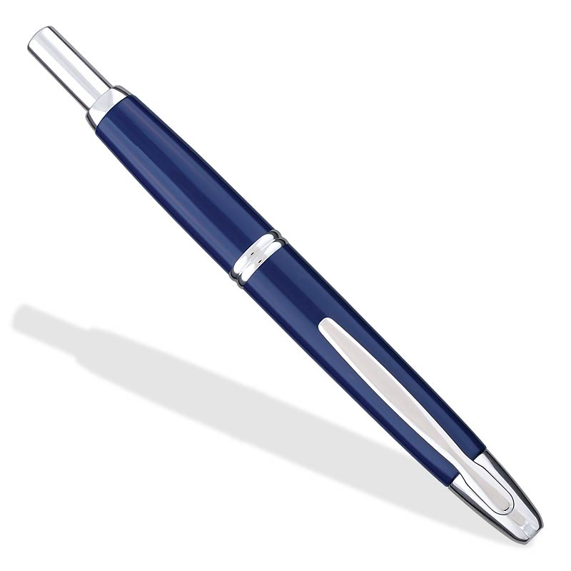 Namiki/Pilot Vanishing Point Fountain Pen, Blue