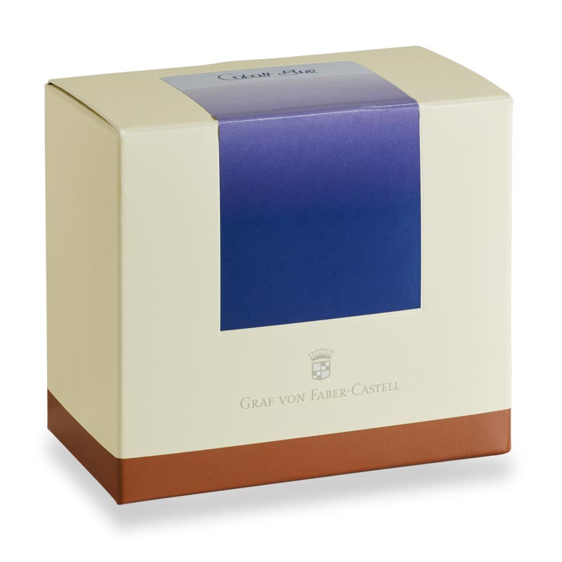 Graf Von Faber-Castell Document-Proof Bottled Ink, Cobalt Blue