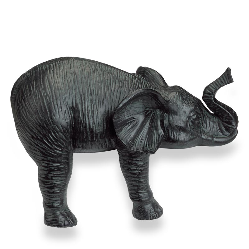 Napping Elephant Statues (set of 2)