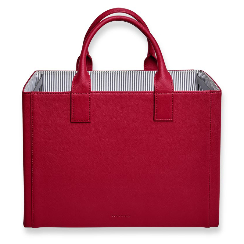 Prestige Portable File Tote - Chili Pepper