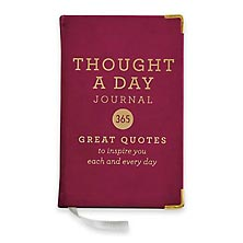 Thought A Day Mini Journal