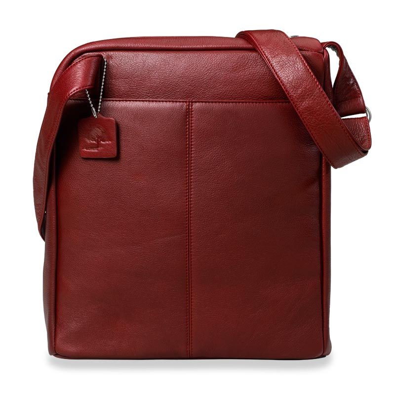 Crossbody Traveler, Garnet