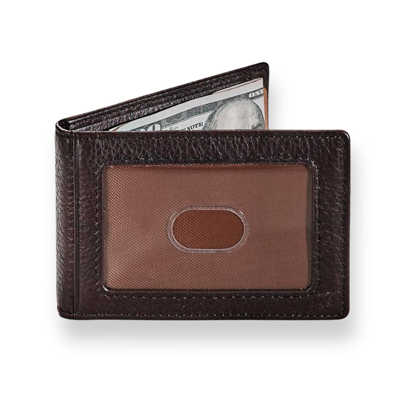 Front Pocket Privacy Bifold with Money Clip