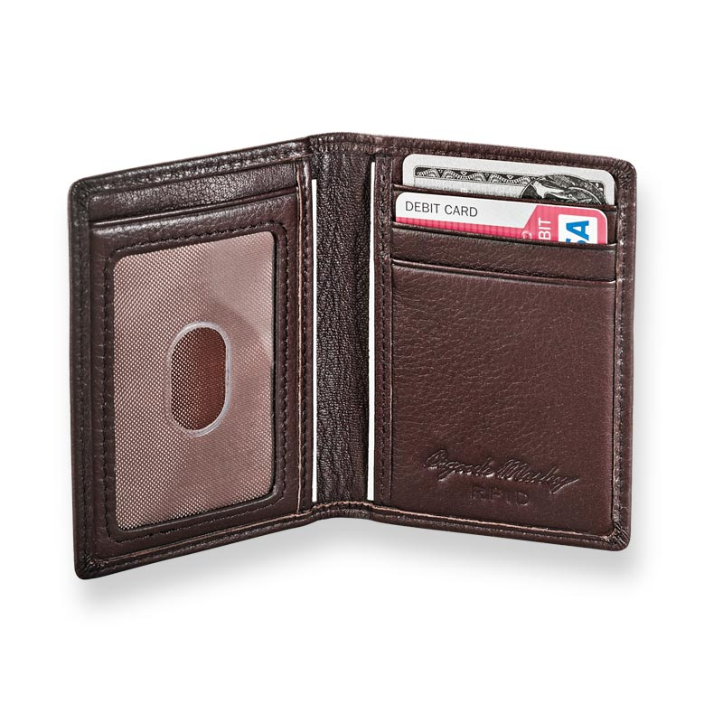 Front Pocket Privacy Card Wallet