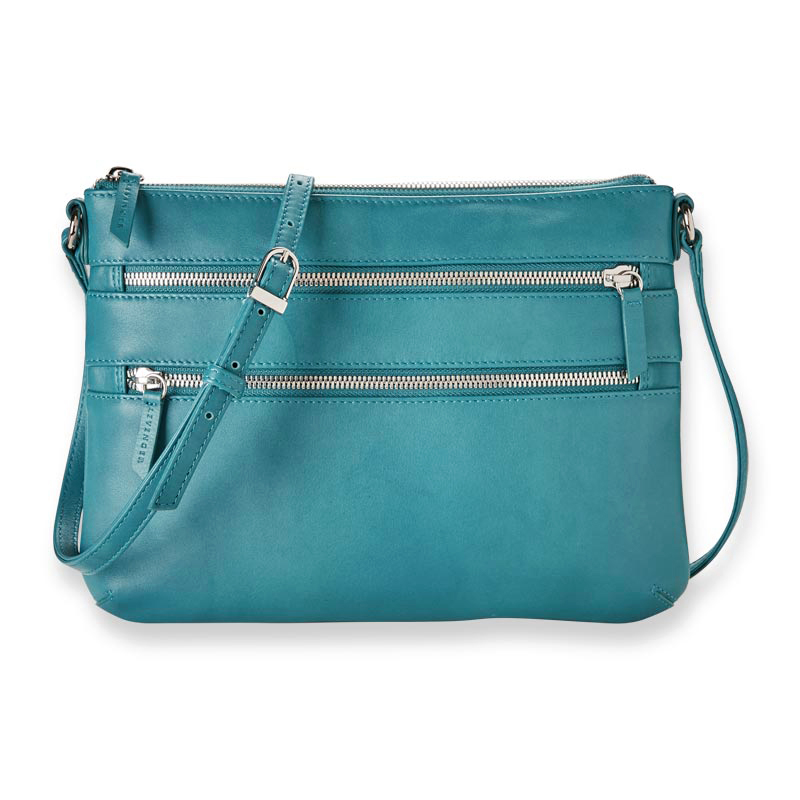 Sutton Multi-Zip Crossbody Bag