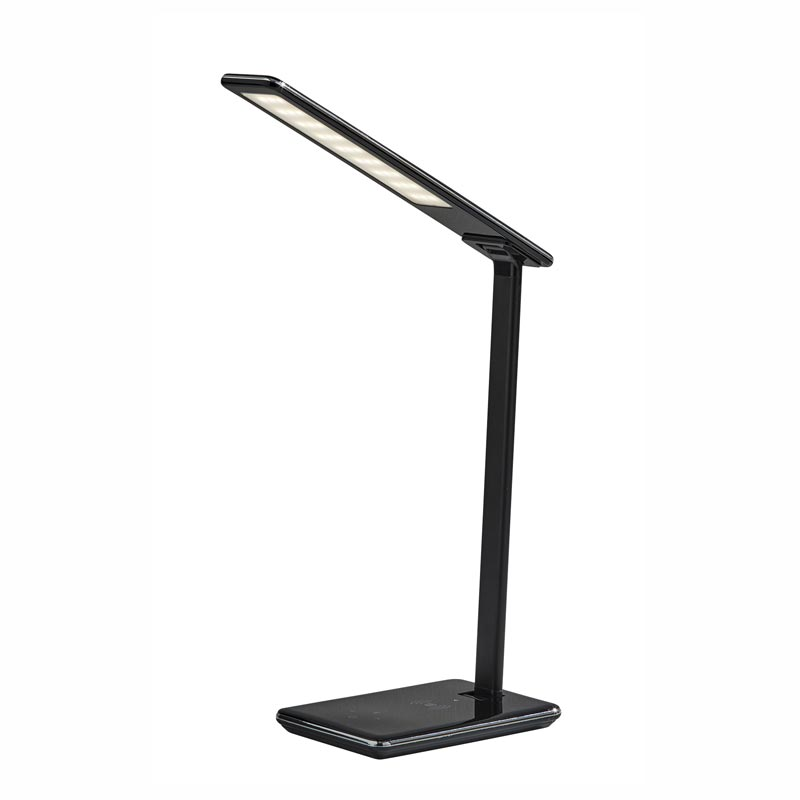 Brighton LED Wireless and USB Charging Desk Lamp