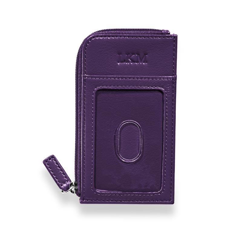 RFID Passcase, Grape