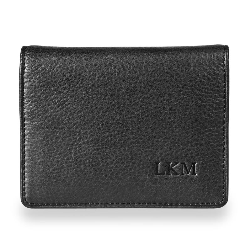RFID Card Stack Wallet, Black