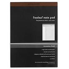 Freeleaf White Annotation Ruled Pads