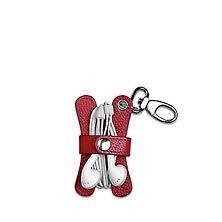 Pocquettes™ Earbud Holder, Red