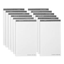 Monthly Card Tabs, Undated (set of 12)