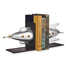 Rocket Bookends (set of 2)