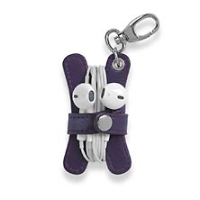 Pocquettes Earbud Holder, Grape