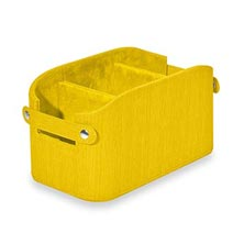 Sanibel Organization Basket - Lemon