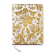 Metallic Damask Journal