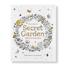Secret Garden Artist's Edition Coloring Book