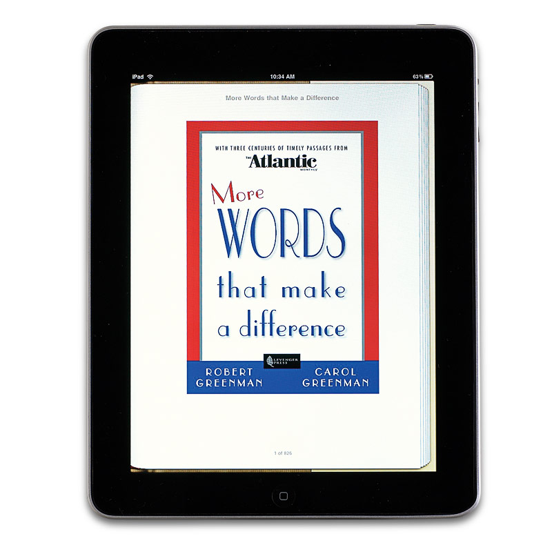 More Words That Make a Difference eBook
