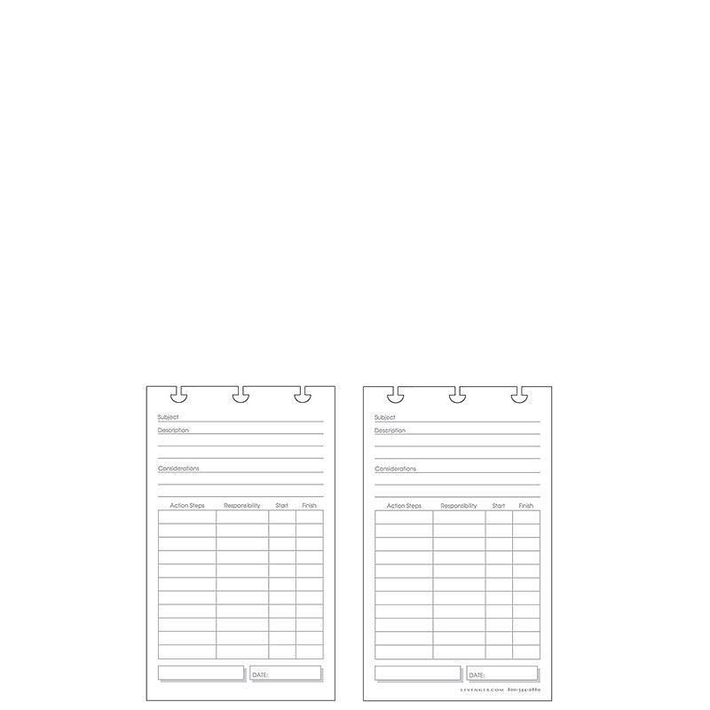 Special Request™ Project Planner (100 cards), Circa Jotlet