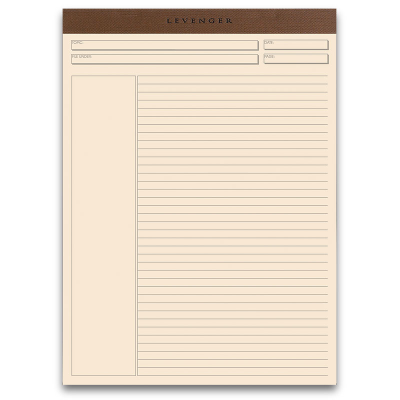 Freeleaf Multicolored Annotation Ruled Pads, Letter