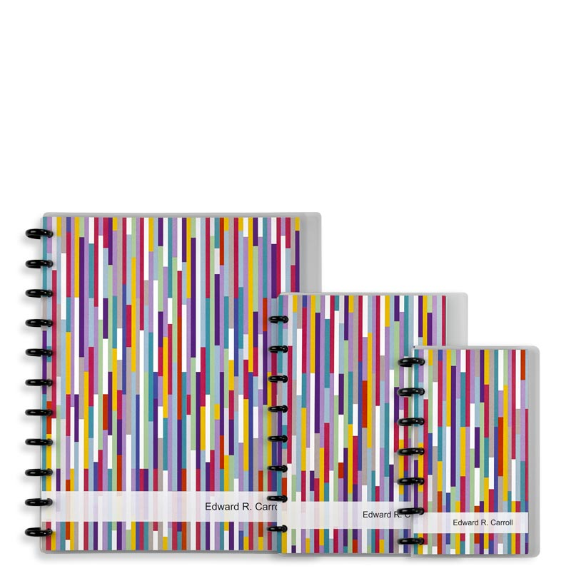 Special Request™ Circa Personalized Notebook, Confetti