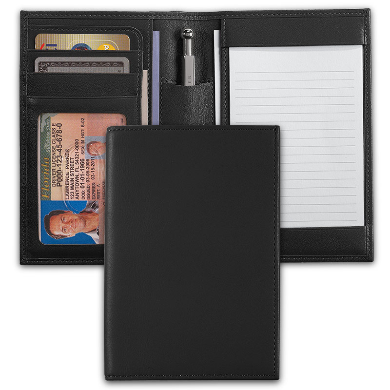 International Pocket Briefcase® with Pocketini Pen, Black