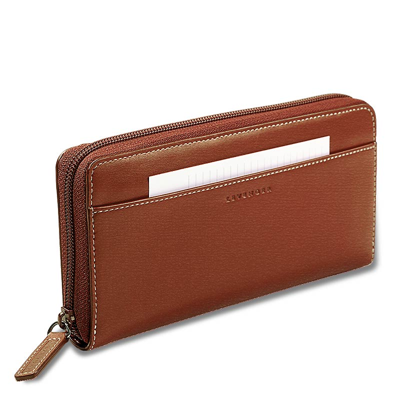 Accordion Wallet, Brown