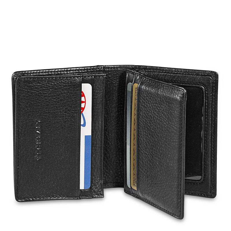 Deluxe Card Wallet-Black
