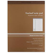 Freeleaf Annotation Ruled Pads (set of 5)
