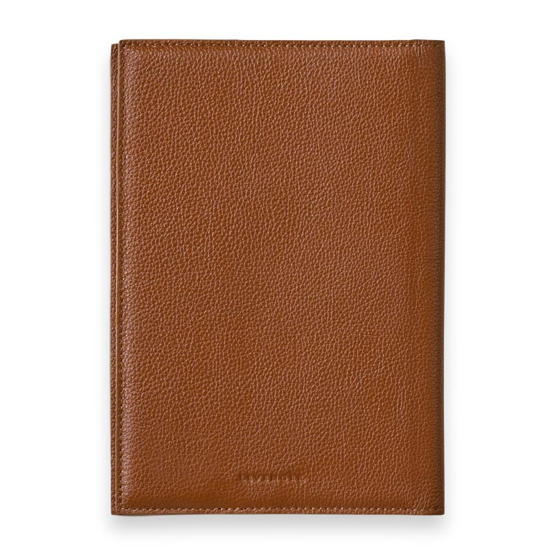 Leather 5-Year Journal Cover, Back